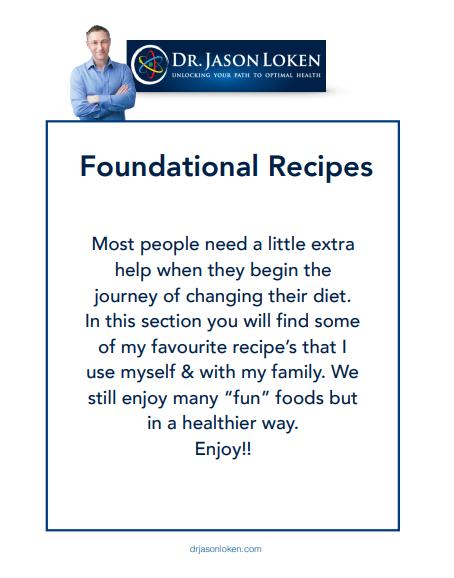 Foundational Recipes